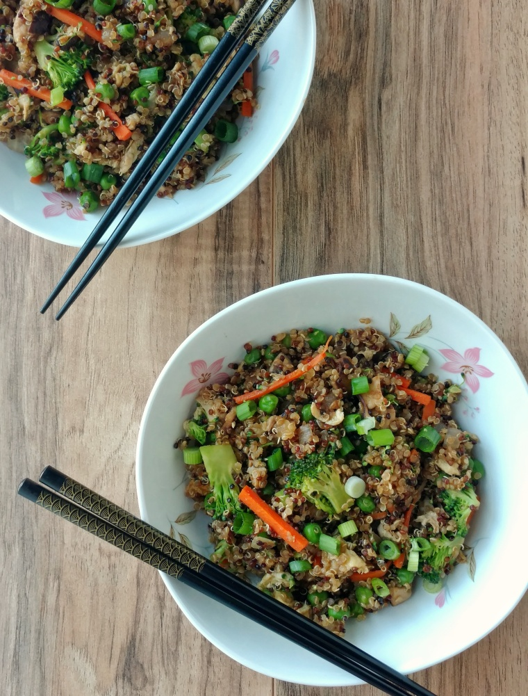 Vegetarian Fried Quinoa